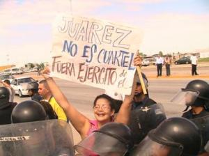 protestas en Juárez